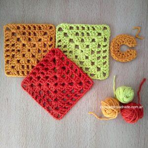 cuadrado crochet basico