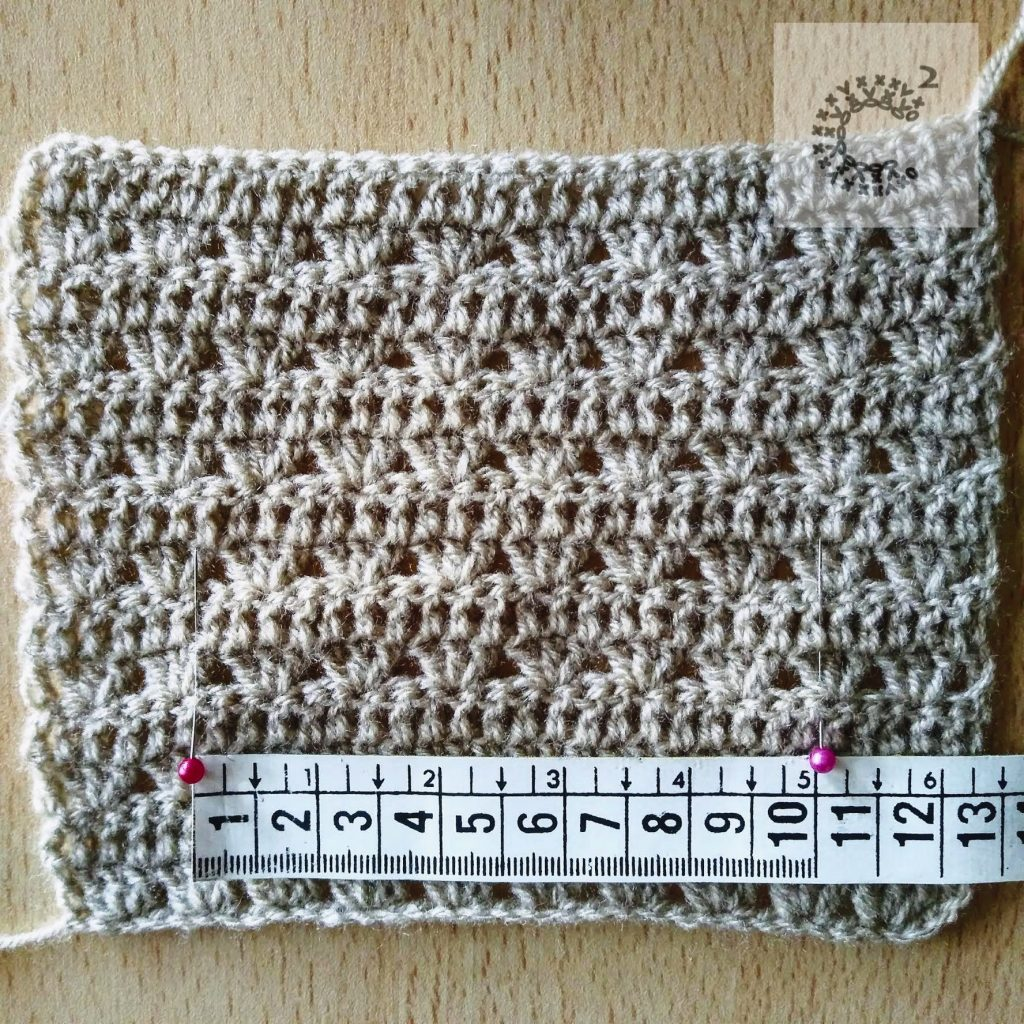 punto fantasia crochet ancho