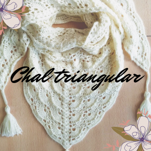 chal triangular crochet