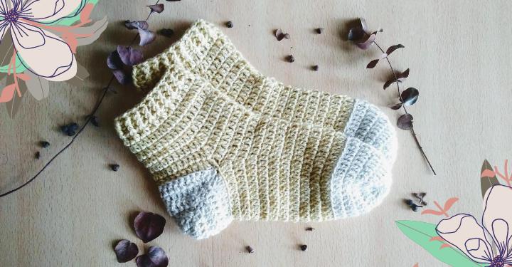 medias tejidas al crochet