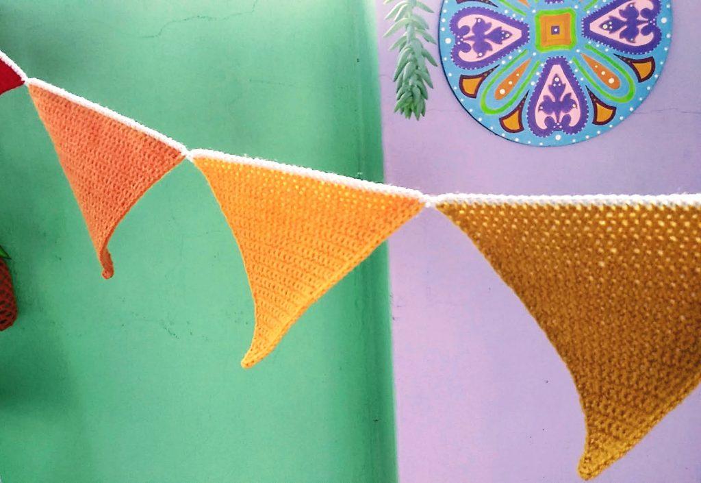 guirnalda crochet