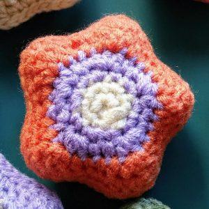 estrella al crochet