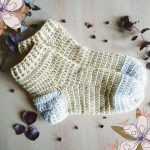 medias al crochet